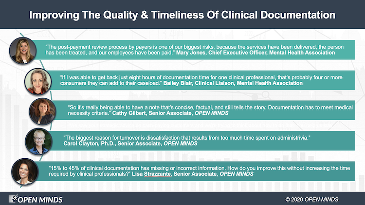 Clinical Documentation – When It's Good, It's OK. When It's Bad, It's Very Bad.