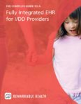 fully integrated ehr for i/dd providers ebook cover