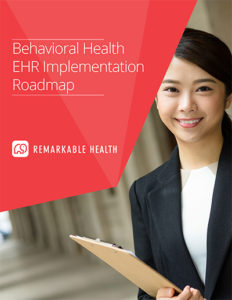 behavioral health ehr implementation roadmap ebook cover