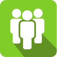 staff icon illustration