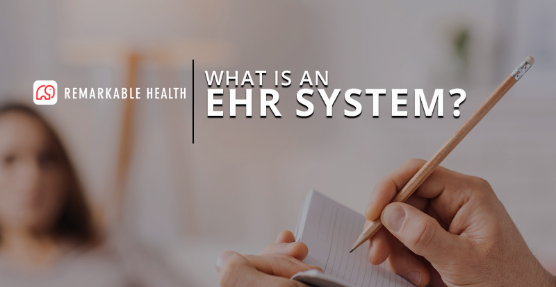 what is an ehr system banner