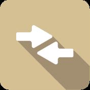 arrows icon illustration
