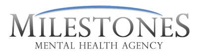 milestones mental health agency logo