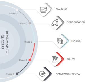 ehr software implementation chart